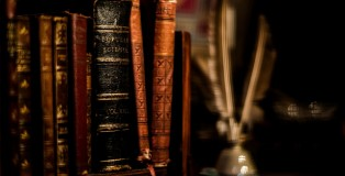 feathers_books_ancient_blurred_background_shelves_1600x900_9911
