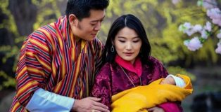king-of-Bhutan-family
